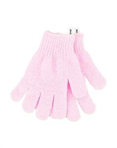 Перчатки для душа отшелушивающие розовые 2 шт Deco
