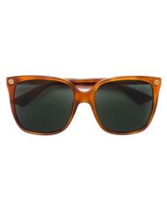 Объемные солнцезащитные очки Gucci eyewear