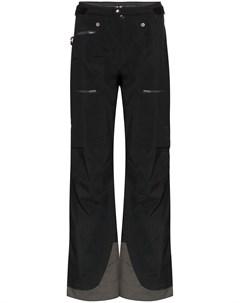 Norrona брюки lyngen gore tex прямого кроя xl черный Norrona