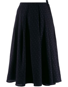 Apuntob расклешенная юбка в горох s синий Apuntob