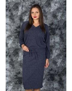 Теплая кофта и юбка миди из трикотажа Victoria filippova