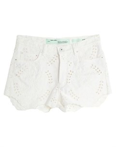 Джинсовые шорты Off-white