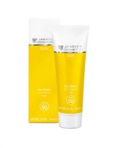 Солнцезащитная эмульсия для лица и тела с максимальной защитой Sun Shield SPF 50 Janssen (германия)