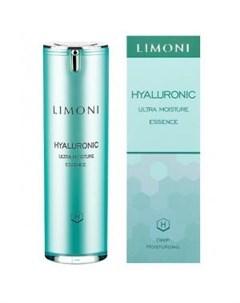 Ультраувлажняющая эссенция для лица с гиалуроновой кислотой Limoni (италия/корея)