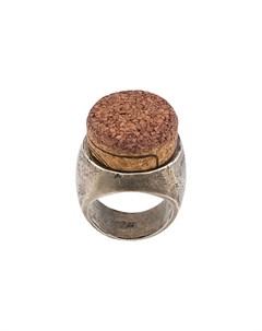 кольцо с пробкой Ann demeulemeester