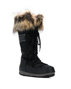Зимние сапоги с меховой отделкой Moon boot