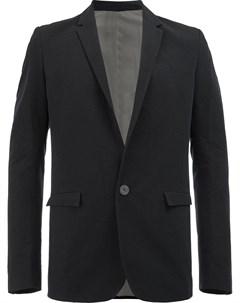 Label under construction пиджак с передними карманами с клапанами 46 черный Label under construction