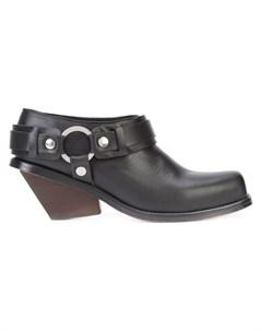 Wanda nylon ботинки на толстом каблуке 38 черный Wanda nylon