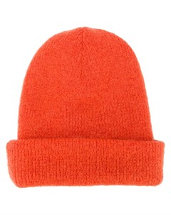 Indress шапка бини крупной вязки один размер оранжевый Indress