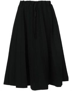 Label under construction юбка со свободной талией на шнуровке один размер черный Label under construction