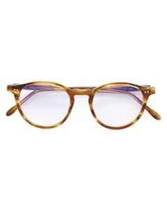 Pantos paris очки в круглой оправе 47 коричневый Pantos paris