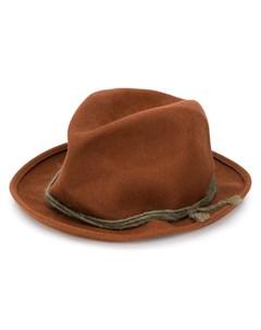 Super duper hats шляпа hobo один размер коричневый Super duper hats