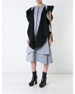 Robert wun платье с контрастными оборками 8 серый Robert wun