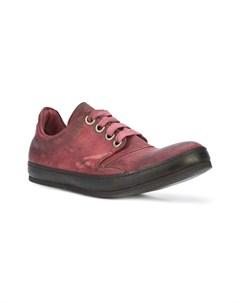 A diciannoveventitre кроссовки на шнуровке 44 красный A diciannoveventitre