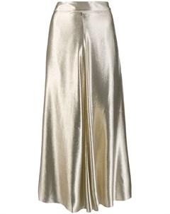 Indress юбка с эффектом металлик 3 серебристый Indress
