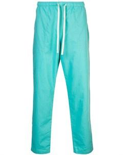Battenwear спортивные брюки l синий Battenwear