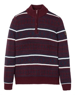 Пуловер с узором в норвежском стиле Bonprix