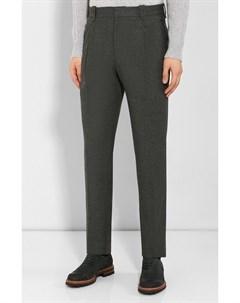 Шерстяные брюки Brioni