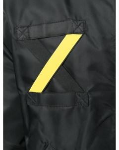 Куртка бомбер с контрастной полосой Letasca