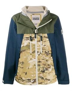 Куртка в стиле колор блок на молнии Griffin
