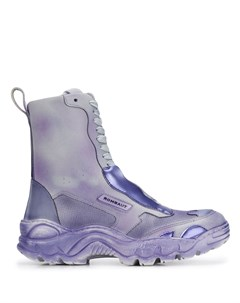Ботинки на ребристой подошве со шнуровкой Rombaut