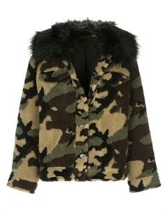 Камуфляжная куртка из шерпы Jocelyn