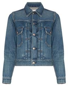 Джинсовая куртка узкого кроя Hyke