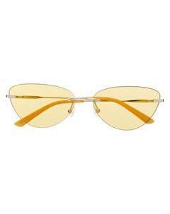 Солнцезащитные очки в оправе кошачий глаз Calvin klein