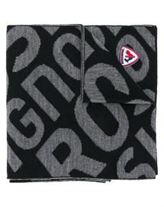Вязаный шарф с логотипом Rossignol