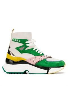 хайтопы на шнуровке Karl lagerfeld