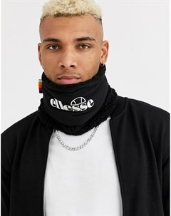 Черный шарф снуд Sandro Ellesse