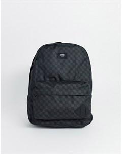 Серый рюкзак в клетку Vans