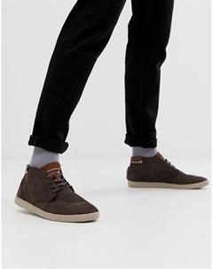 Светло коричневые замшевые кроссовки alvendon Boxfresh