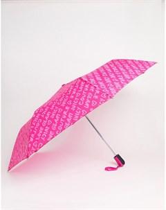 Розовый зонт Juicy couture