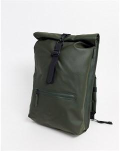Зеленый непромокаемый рюкзак 1316 Rains