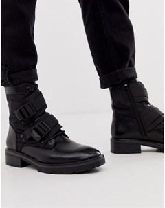 Кожаные ботинки с ремешками Sixty Seven Sixtyseven