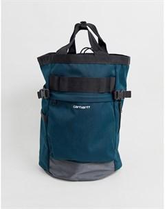 Синий водоотталкивающий рюкзак объемом 23 4 л Payton Carrier Carhartt wip