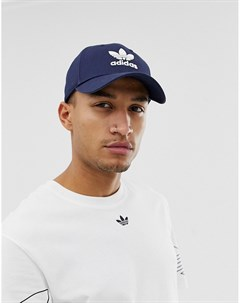 Темно синяя кепка с логотипом Темно синий Adidas originals