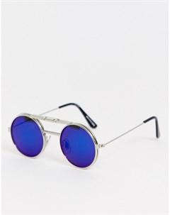 Синие круглые очки Spitfire