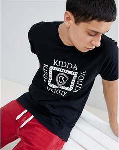 Черная футболка Kidda By Christopher shannon