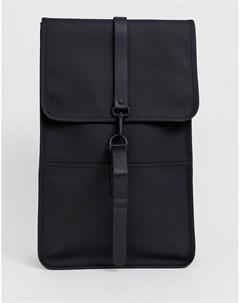 Черный непромокаемый рюкзак 1220 Rains