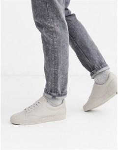Кремовые кожаные кроссовки Кремовый Boxfresh