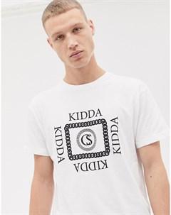 Белая футболка Kidda By Christopher shannon