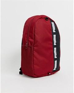 Красный рюкзак Phase II Puma