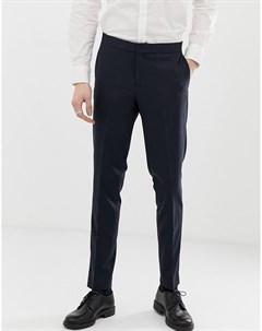 Темно синие брюки Lindbergh