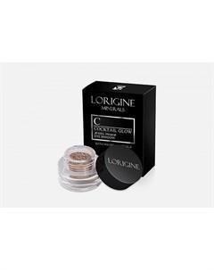 Минеральные тени для бровей Cocktail Glow Mineral Eyeshadow Lorigine