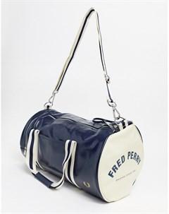 Классическая темно синяя сумка Fred perry