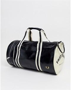 Черная классическая сумка Fred perry