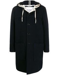 Пальто с капюшоном и кулиской President's