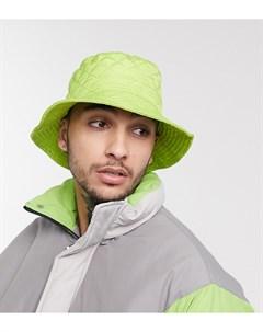 Зеленая панама в стиле унисекс inspired Зеленый Reclaimed vintage